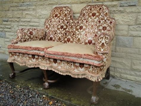 hump couch queen anne style d0uble hump back sofa 171936