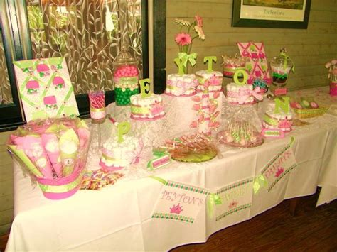 Custom Wedding Decor Gallery Decoratively Speaking Events Pink And Green Buffet