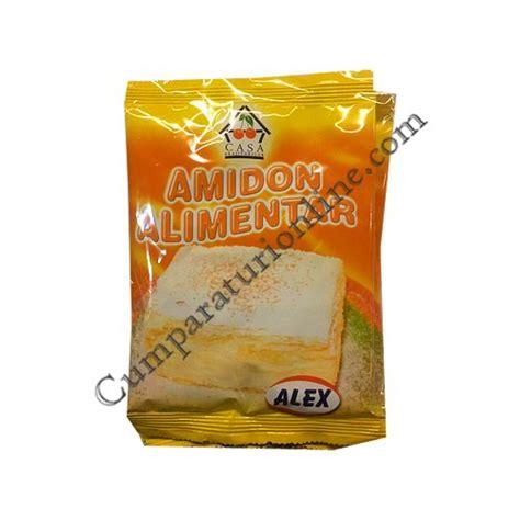 amido alimentare amidon alimentar de porumb alex 5x40 gr pret buc din