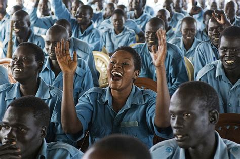south sudan police south sudan police recruits at training academy flickr