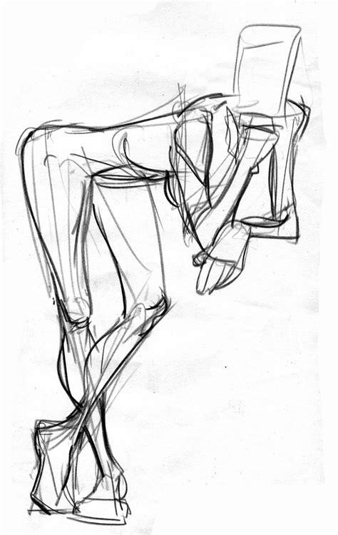 1 Minute Pose Sketches by Travis Sengaus Sketchee Bizniz 2 Minute Drawing Poses