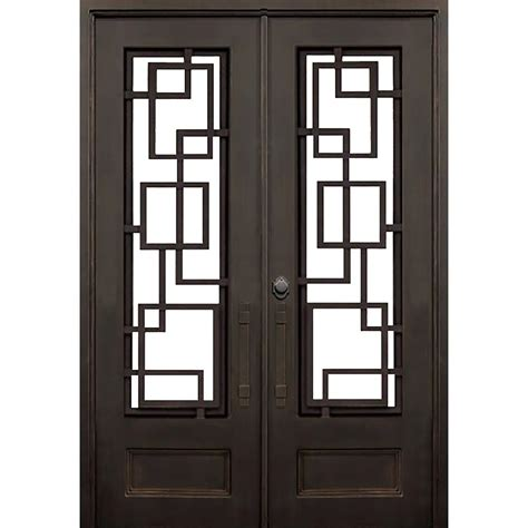 Bronze Door by Florida Iron Doors 74 In X 97 5 In Flat Top St