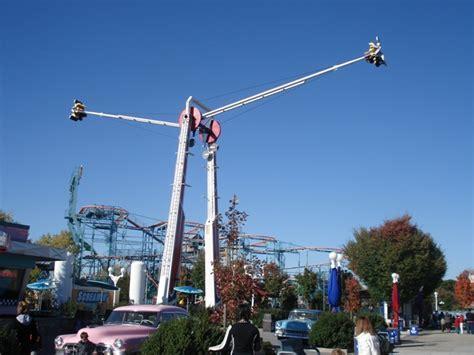 screamin swing dorney park photo tr dorney park 10 19 08 theme park review