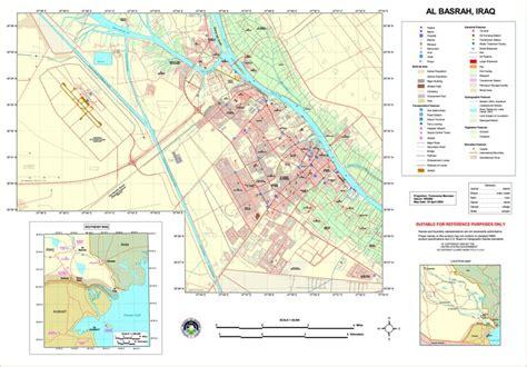 where is basra on a map file basra map jpg wikitravel shared