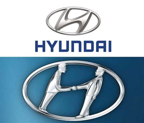 hyundai logo meaning 20 famous logos with a hidden message that you never noticed