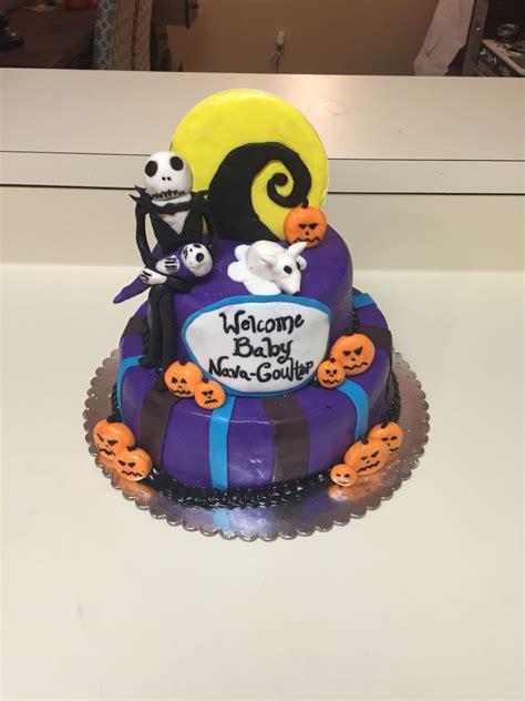 Nightmare Before Baby Shower Cake by Nightmare Before Baby Shower Cake Cakecentral