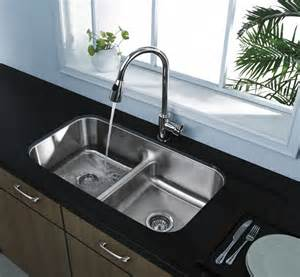 Pictures Of Kitchen Sinks And Faucets by How To Choose Beautiful Kitchen Sinks And Faucets