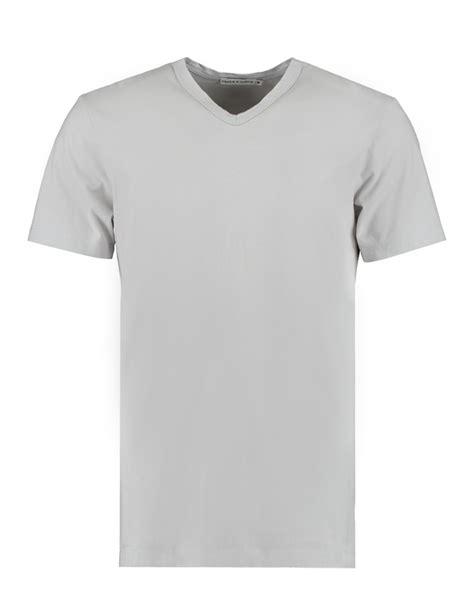mens light grey s light grey garment dye v neck t shirt 100 supima