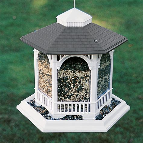deluxe gazebo bird feeder birdcage design ideas