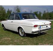 Ford Taunus 12m Two Doors P4 1962 Four