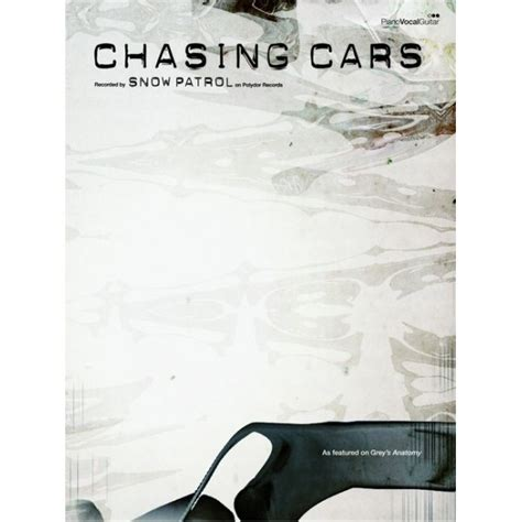 chasing cars books snow patrol chasing cars pvg single