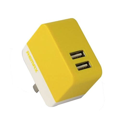 Remax Dual Usb Charger 3 4 A 1 A remax rmt6188 3 4a dual usb charger white othoba