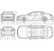 Audi A8 Sedan 2010 Blueprint  Download Free For