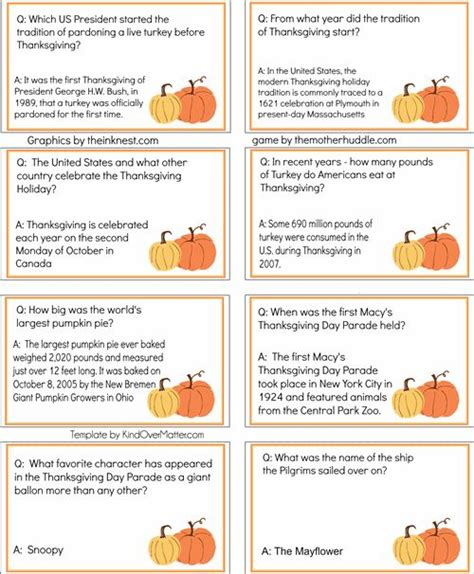 printable quiz cards trivia answer cards images