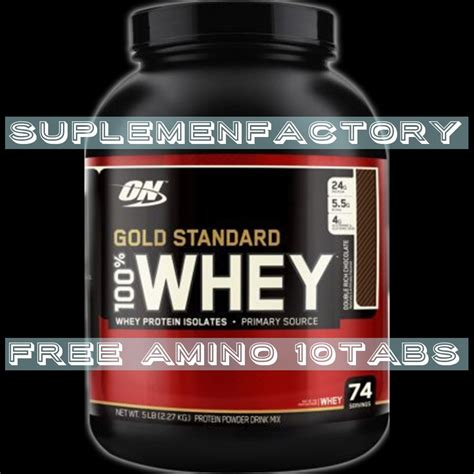 Jual Bpom Whey Gold jual beli on 100 whey gold standard wheygold 5lbs