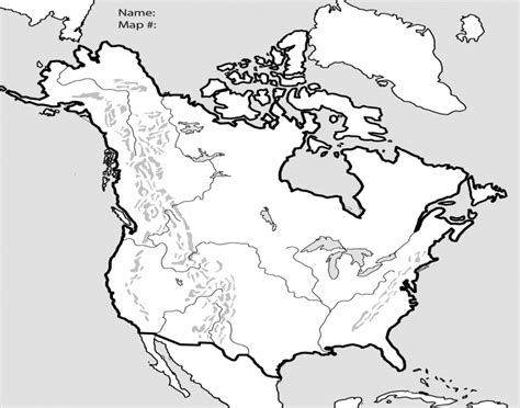 america and canada map quiz u s canada physical map