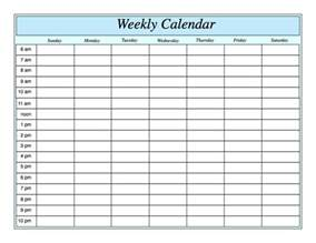 printable blank daily schedule template july weekly calendars print blank calendars