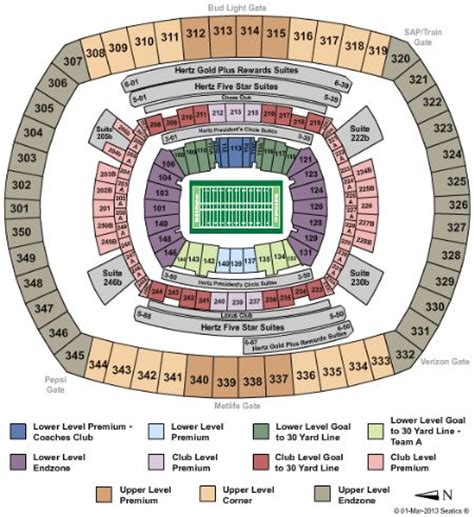 metlife stadium floor plan metlife stadium tickets and metlife stadium seating chart