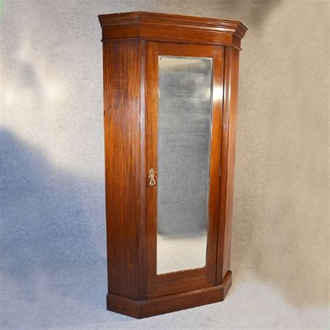 Antique Corner Wardrobe antique corner wardrobe lobby coat cupboard cloak