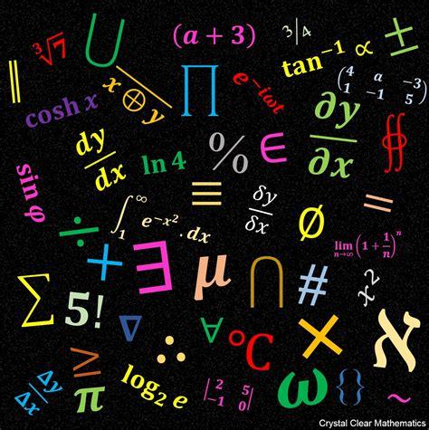 The Mathematics Of mathematical symbols clear mathematics