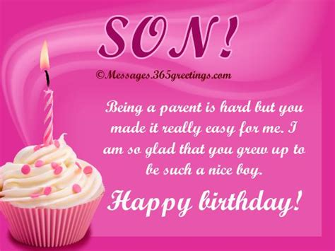 Birthday Quotes For A On Birthday Birthday Quotes For A Son From His Mother Image Quotes At