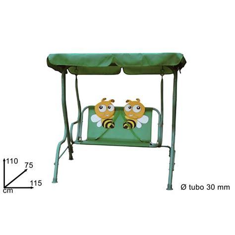 dondolo per bambini da giardino dondolo per bambini modello ape