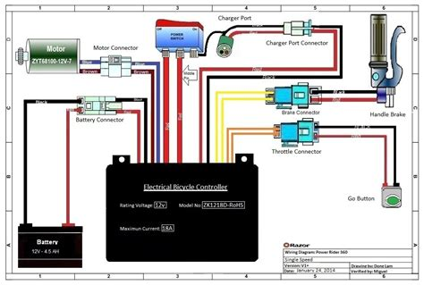 e200 razor scooter wiring diagram wiring diagram with