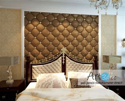 faux leather wall panels images pinterest bedroom wall designs faux leather walls room wall decor