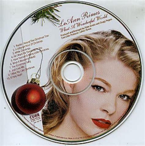 leann rimes what a wonderful world usa promo cd album 2a
