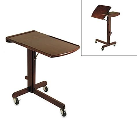 bed bath and beyond desk antique walnut adjustable laptop desk bed bath beyond