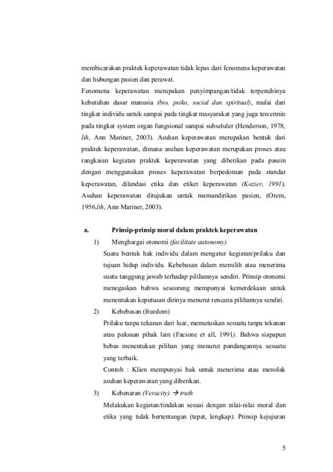 format asuhan keperawatan menurut orem makalah etika keperawatan