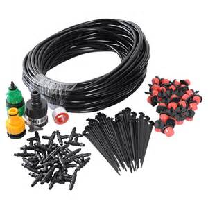 Patio Plant Watering System by 25m Diy Micro Drip Irrigation System Plant Self Watering