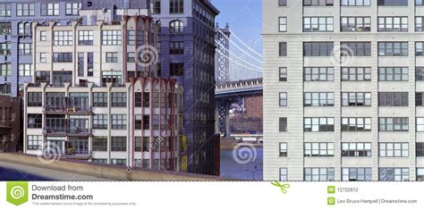 dumbo section of brooklyn dumbo district brooklyn new york usa stock photography