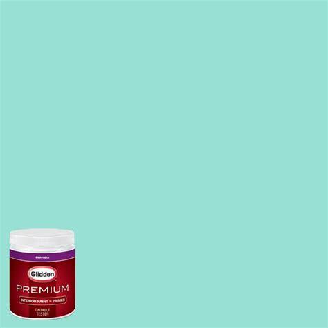 Teal Interior Paint by Glidden Premium 8 Oz Hdgb02u Bali Hai Teal Eggshell