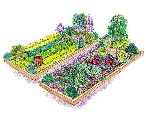 Vegetable Garden Plans Better Homes And Gardens Vegetable Garden