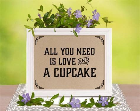 Rustic Wedding Decor: All You Need Is Love And A Cupcake