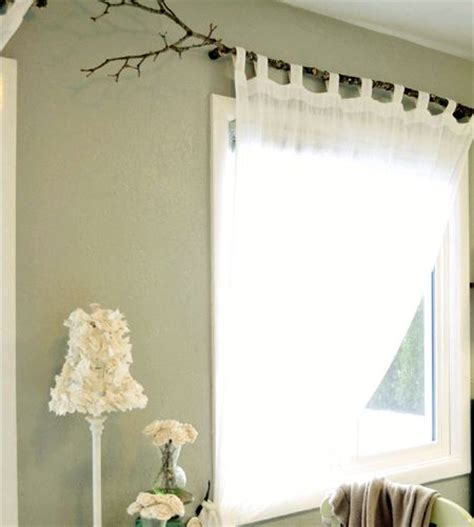tree curtain rod tree branch curtain rod 15 diy tutorials guide patterns