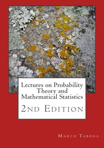 lectures on probability theory and mathematical statistics