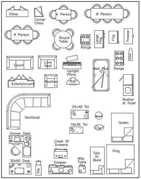 free furniture templates for floor plans free printable furniture templates furniture template