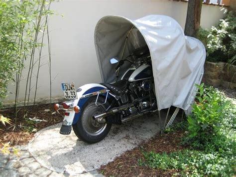 Die Motorrad Garage English by Bikehome Hellgrau Motorrad Faltgarage F 252 R Den Winter