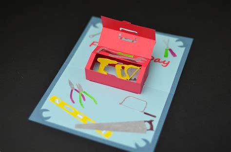make a popup card how to make a s day toolbox pop up card creative