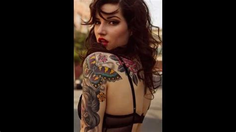 tattoo on shoulder youtube 10 awesome shoulder tattoos for girls youtube