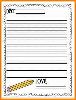 elementary letter template penn working papers
