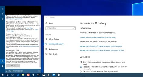 how to manage cortana settings on the windows 10 fall windows 10 build 16188 for pc everything you need to know