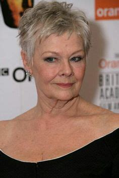 Judi Dench Haircut Instructions | the 5 most flattering haircuts for women in their 70s and