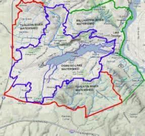 oswego lake watershed tour low impact development