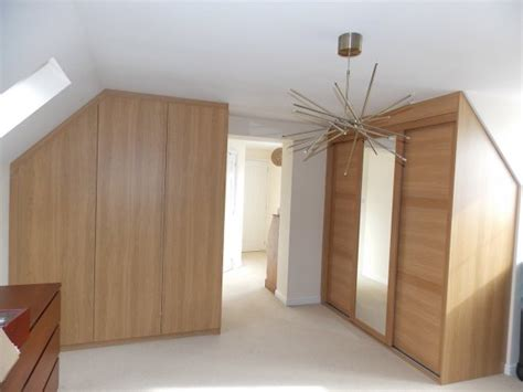 Fitted Wardrobes For Sloping Ceilings by Wardrobes And Cupboards For Loft Conversions
