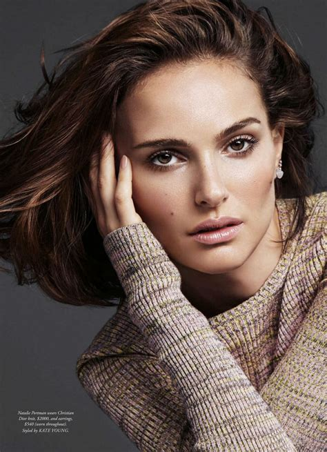 Photos Of Natalie Portman by Natalie Portman S Bazaar Magazine Australia April
