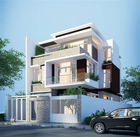 three storey modern house design house designs