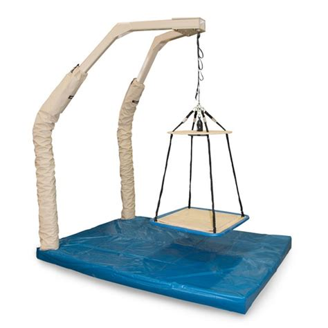 sensory swing with stand suspension hardware sensory integration southpaw